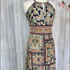 London Times Maxi Dress Size 4 NWOT